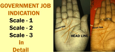 Palm Reading Line For Government Job